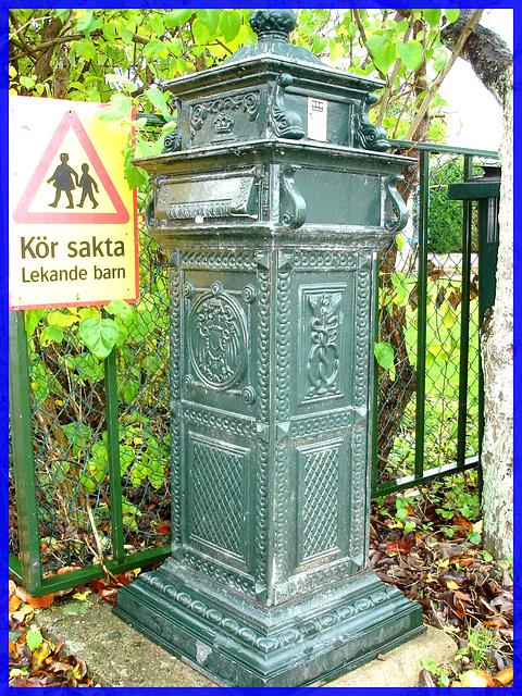 Boîte aux lettres Viking / Viking mailbox- Båstad, Sweden