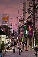 Purple Shopping in Kobe