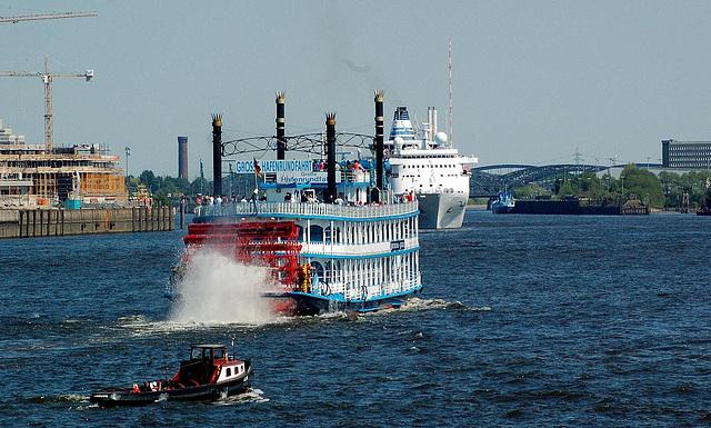Einlaufparade 2008 in Hamburg