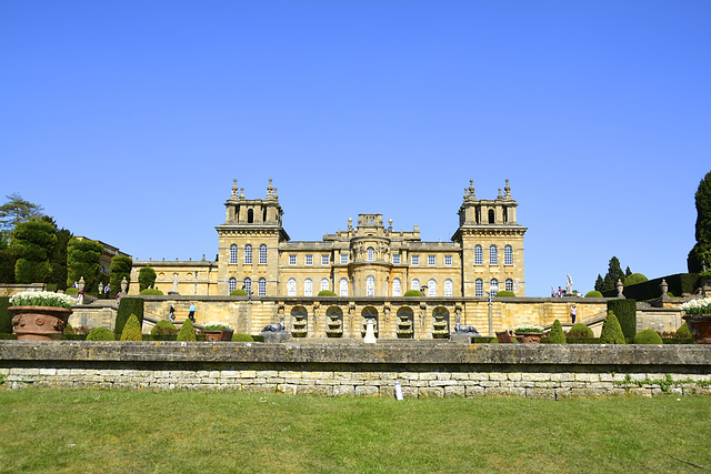Blenheim Palace – View of the Palace