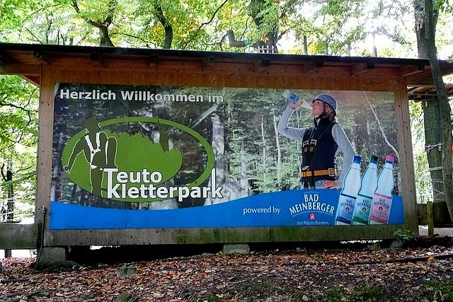 Kletterpark am Hermannsdenkmal