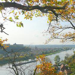Canalettoblick auf Pirna