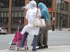 L'Islam maritime dans toute sa plendeur ! Coastal Muslim duo - Halifax, Nova Scotia, Canada /June 22th 2008-