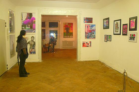Ausstellung bei Faitesvotrejeu. Oktober 2008