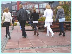 Festival de jambes en X- X legs strides festival in  Båstad,  Sweden - 1er novembre 2008