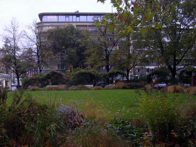Day in autumn in Berlin