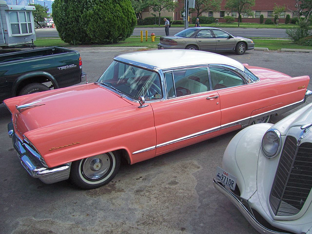 Pink '56 Lincoln