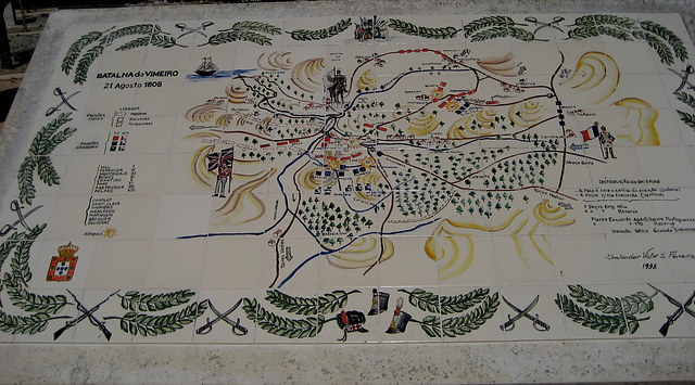 1st French Invasion of Portugal, Battle of Vimeiro, August 21, 1808 (4)