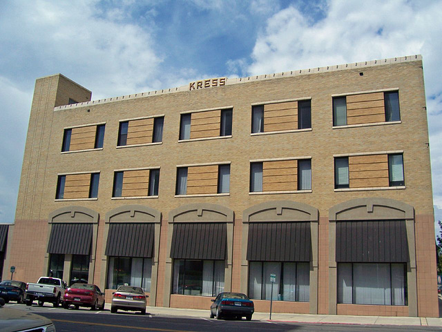 old Kress department store building
