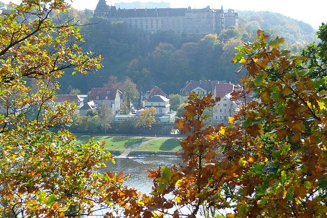 Schloß über Pirna -