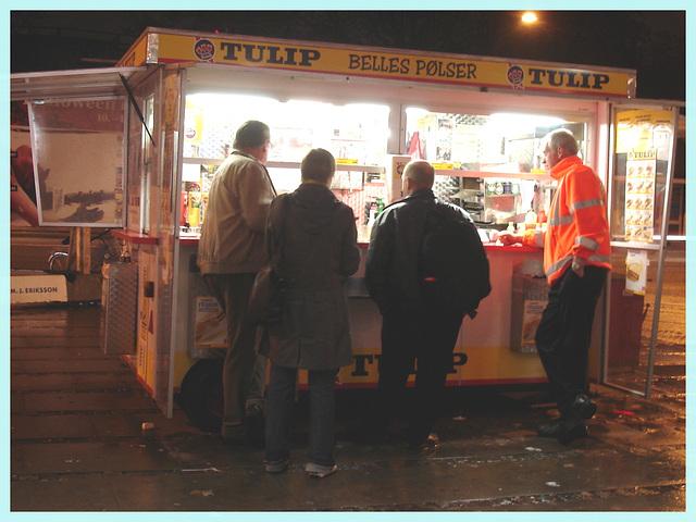 TULIP- Belles polser / Copenhagen - Evening snack time / Fringale nocturne ! 19 octobre 2008
