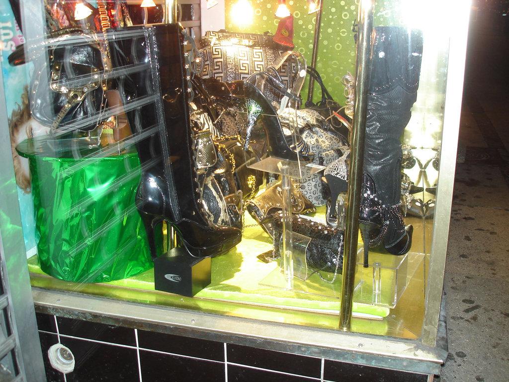 Copenhague /  BDSM boots / Bottes pour discipline de nuit à la Danoise ! 19 octobre 2008.