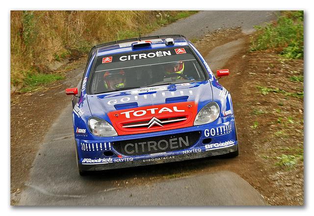 Sebastien Loeb au rallye d'Allemagne 2006