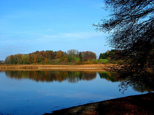 Am Rössler Weiher im Herbst 08