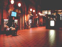 DSB Billetautomat à saveur Asiatique. Gare centrale de Copenhague.