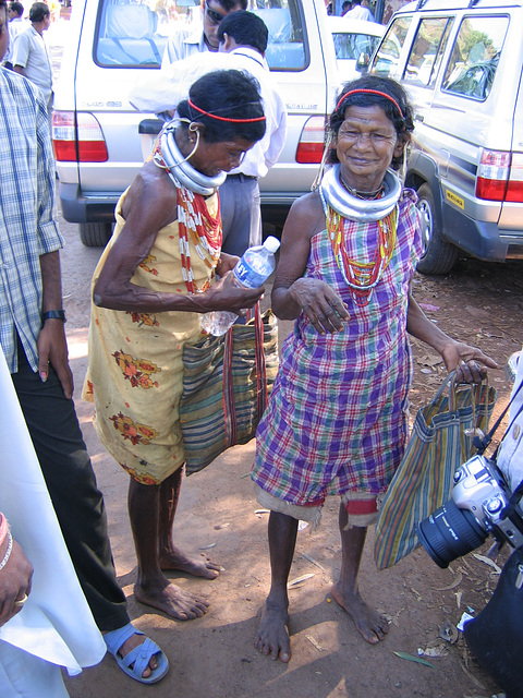 Orissa tribals at the market