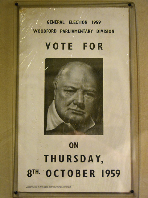 Blenheim Palace – Vote Conservative