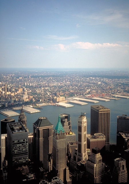 New York vom WTC