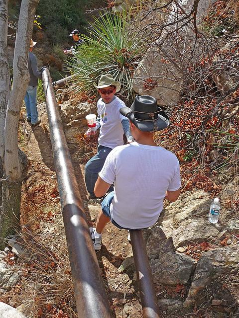 Rubio Canyon Hike (1961)