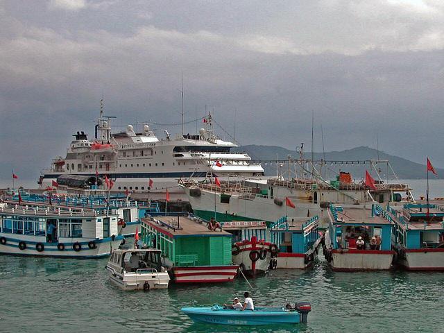 Port in Nha Trang