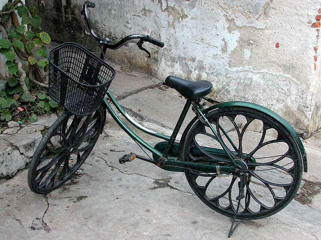 A bicycle to hire in Hội An
