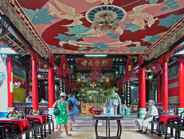 Inside the Phúc Kiến Community Hall