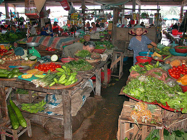 The market in Hội An
