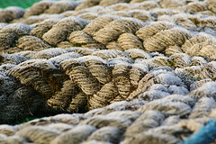 the rope on the roof