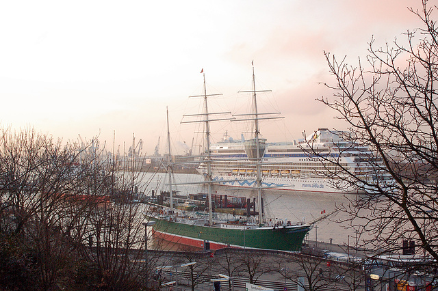 Aidaluna in Hamburg 2009