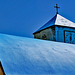 The Blue Greek Church
