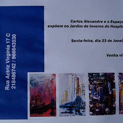 Carlos Alexandre & Espaço AmArte Painting Exhibition