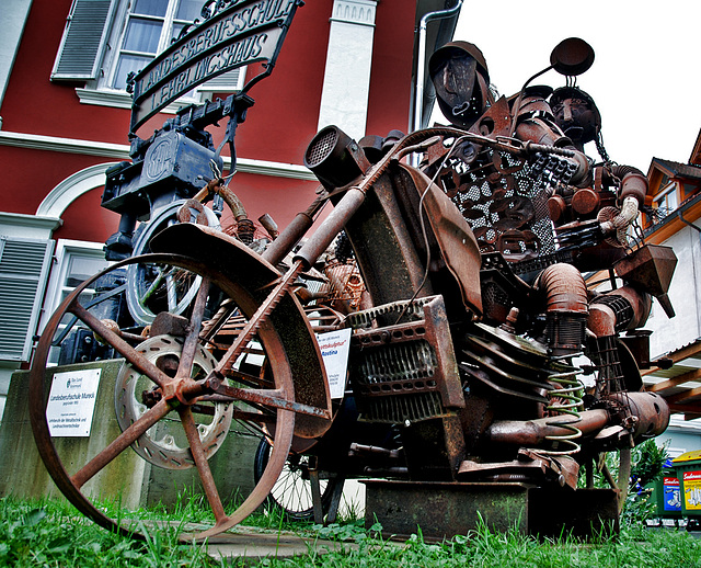 Southern Styria - The Rusty Motorcycle