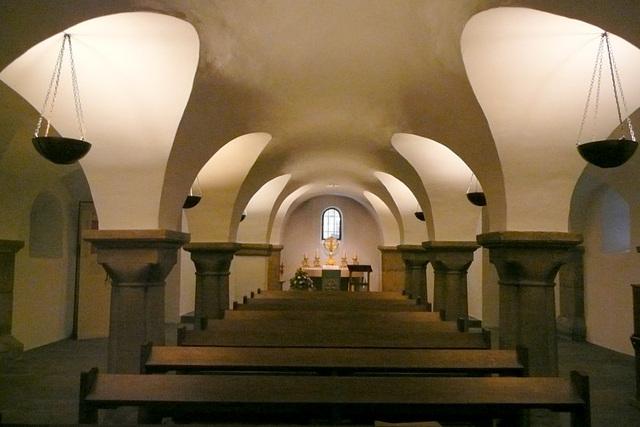 die Krypta der Abdinghofkirche