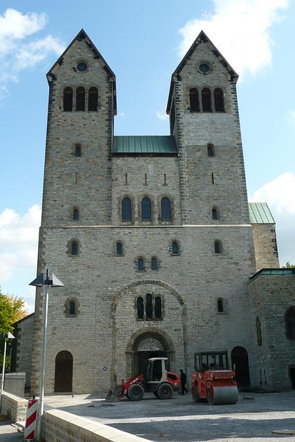 Die romanische Abdinghofkirche in Paderborn