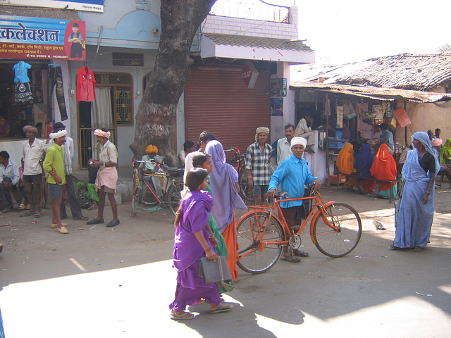 La bicyclette orange