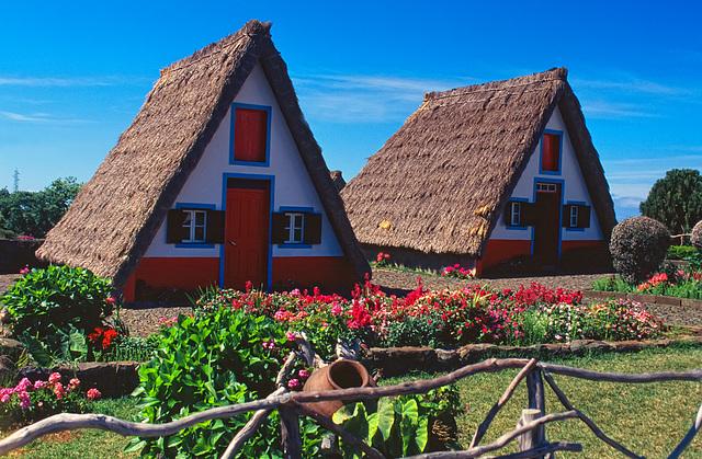 madeira houses