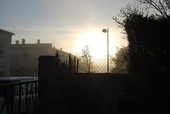 Petit matin frileux à Limoux