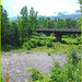 Pont et rivière -  Bridge and river -Vermont- USA /  6 août 2008.