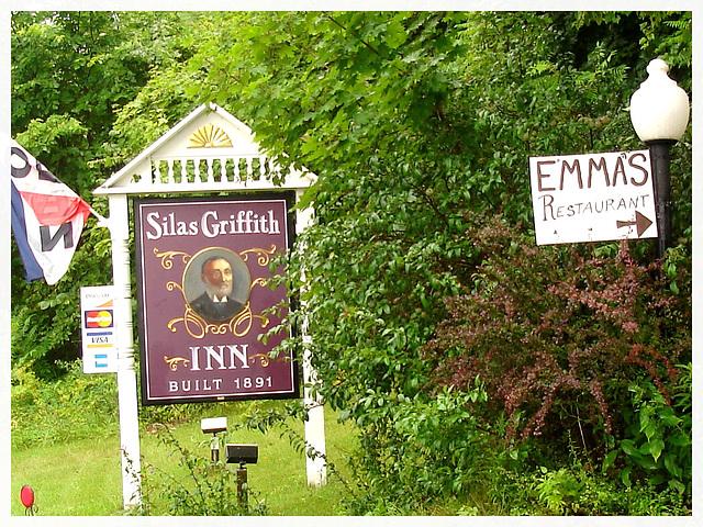 Silas Griffith Inn / Vermont, USA. August 6th 2008.