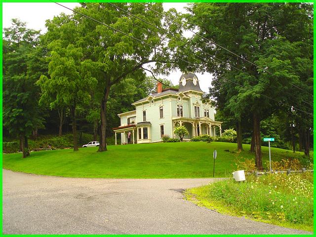 Silas Griffith Inn- Vermont- USA- August 2008.