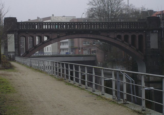 Brücke in Barmbek