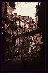 Dark street in Palermo..........