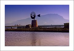 Saltmill near Trapani