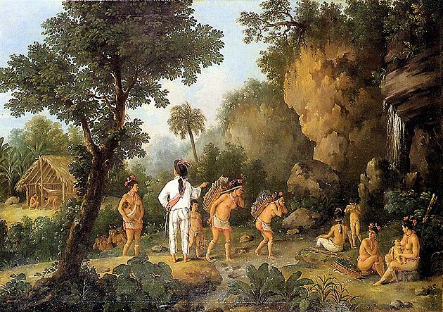 Chasseur d'esclaves, œuvre de Jean-Baptiste Debret