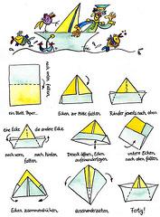 Paperŝipo - Papierschiff