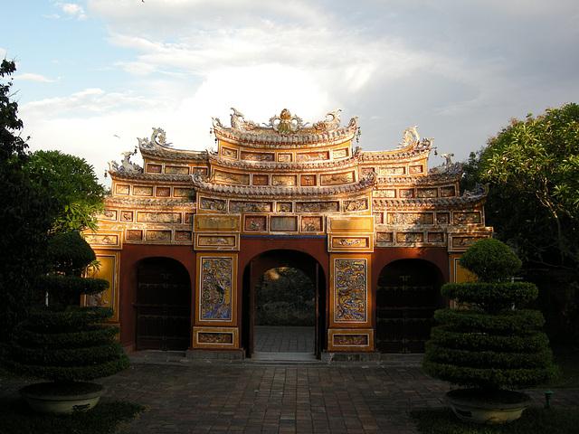 Tor in der Zitadelle