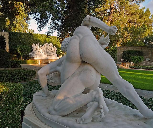 Wrestlers Sculpture (2063)