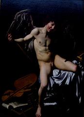Berlin, Gemäldegalerie, Triumphant Eros - painting (1)