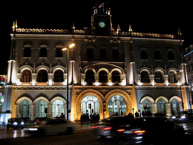 Lisboa, Railway Station of Rossio (downtown)