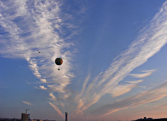 Balloon over Kadiköy